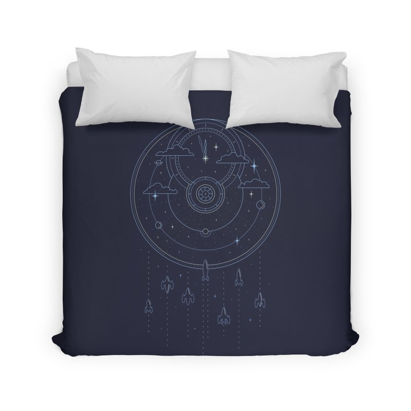Mission through Time and Space Home Duvet by heavyhand's Artist Shop