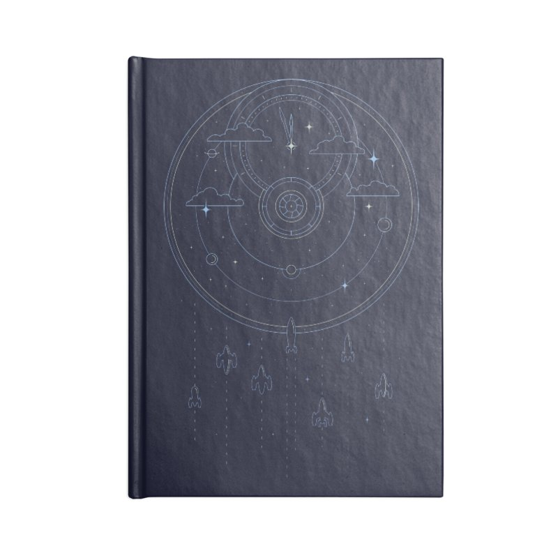 Mission through Time and Space Accessories Blank Journal Notebook by heavyhand's Artist Shop