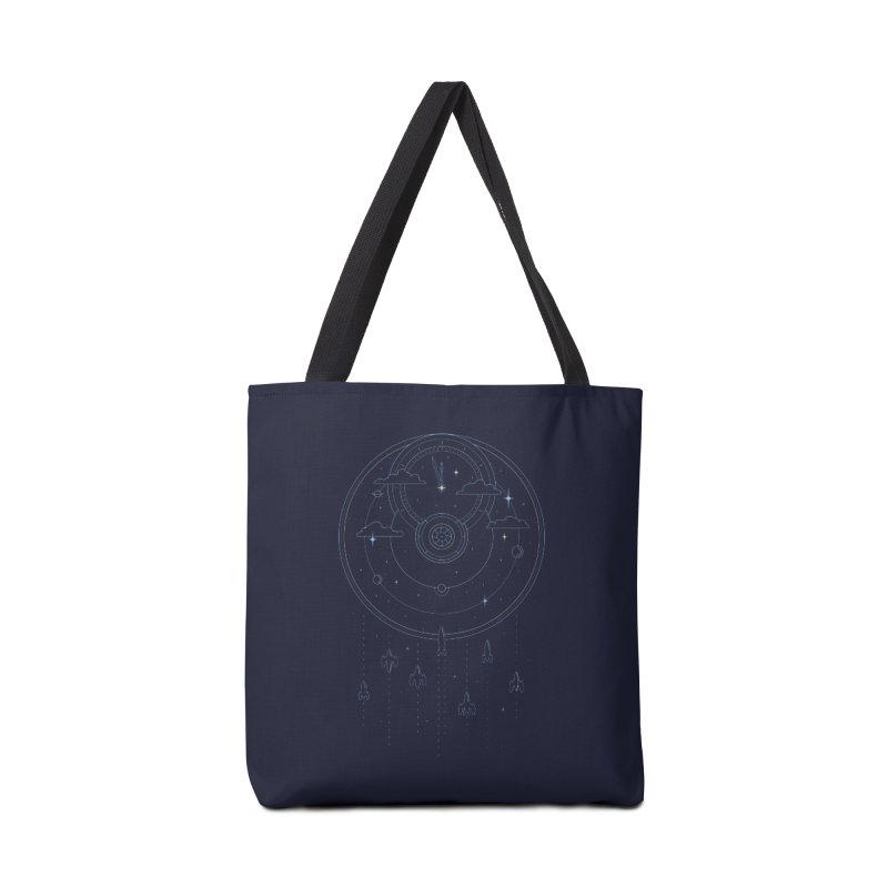 Mission through Time and Space Accessories Tote Bag Bag by heavyhand's Artist Shop