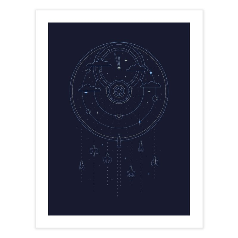 Mission through Time and Space Home Fine Art Print by heavyhand's Artist Shop