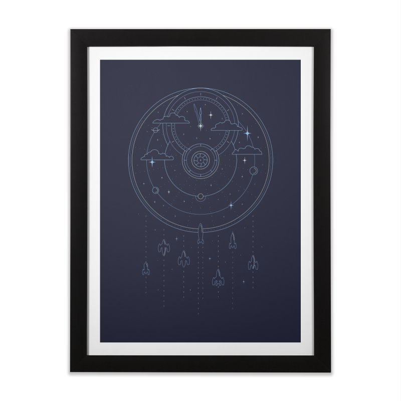 Mission through Time and Space Home Framed Fine Art Print by heavyhand's Artist Shop