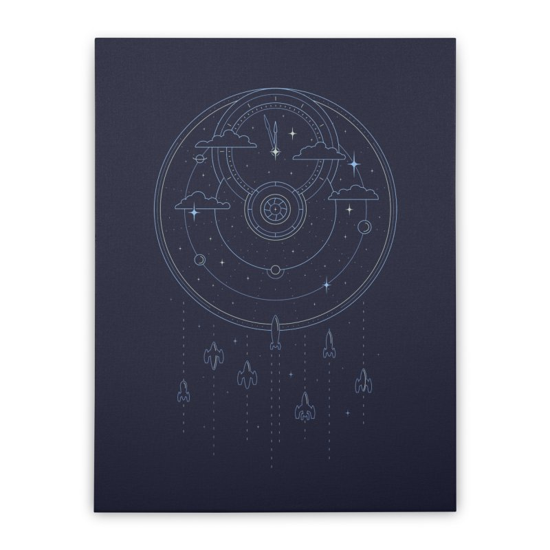 Mission through Time and Space Home Stretched Canvas by heavyhand's Artist Shop