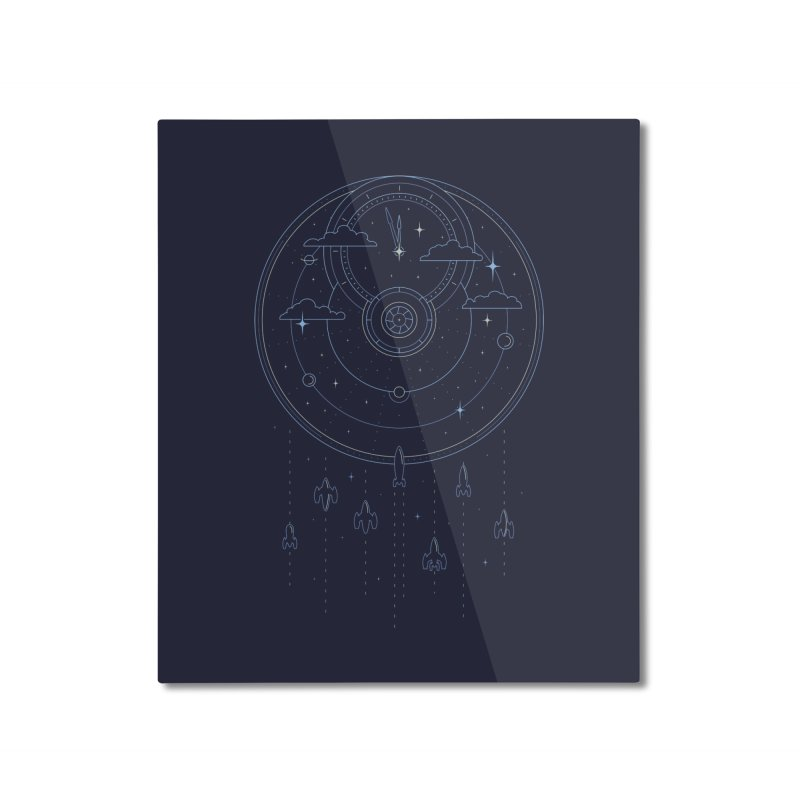Mission through Time and Space Home Mounted Aluminum Print by heavyhand's Artist Shop