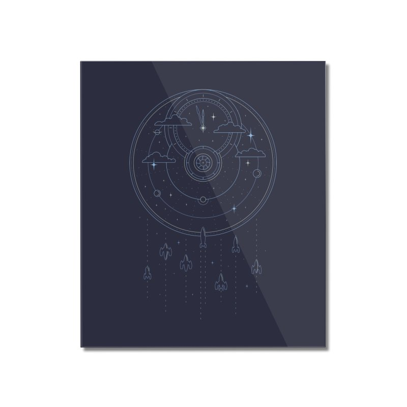 Mission through Time and Space Home Mounted Acrylic Print by heavyhand's Artist Shop