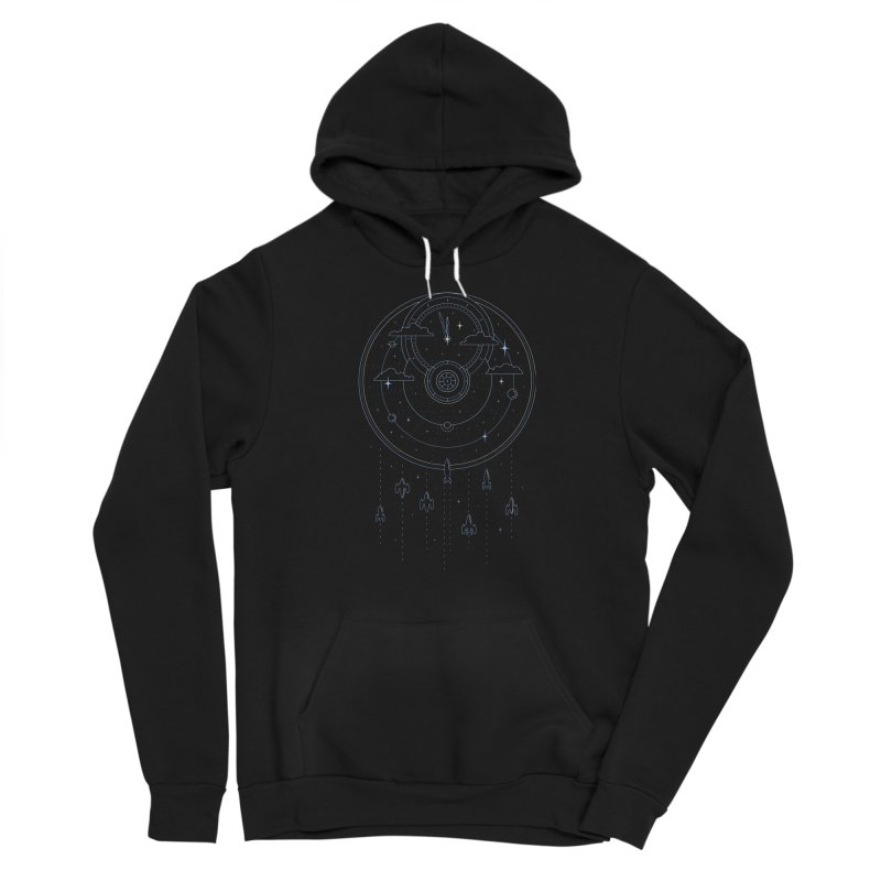 Mission through Time and Space Women's Sponge Fleece Pullover Hoody by heavyhand's Artist Shop