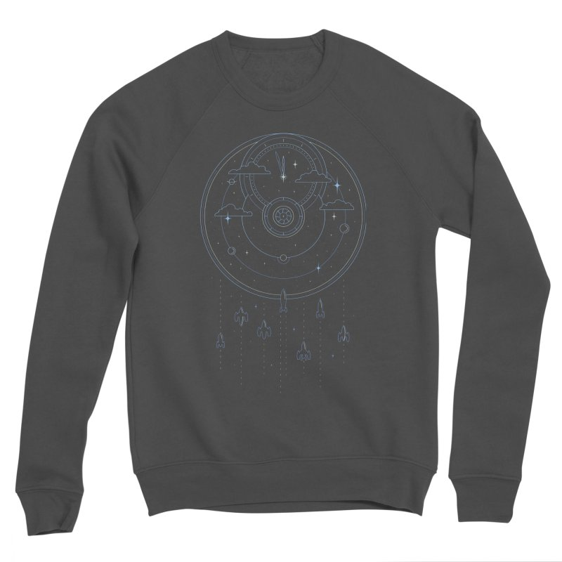 Mission through Time and Space Women's Sponge Fleece Sweatshirt by heavyhand's Artist Shop