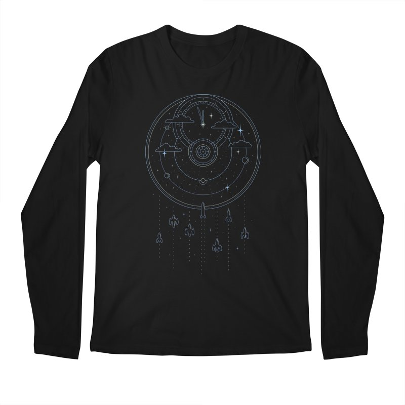 Mission through Time and Space Men's Regular Longsleeve T-Shirt by heavyhand's Artist Shop