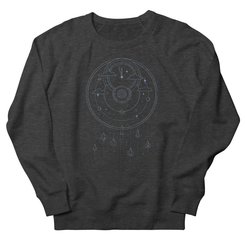 Mission through Time and Space Men's French Terry Sweatshirt by heavyhand's Artist Shop