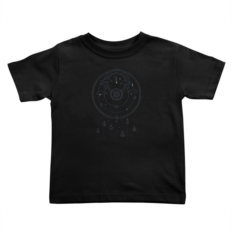 Mission through Time and Space Kids Toddler T-Shirt by heavyhand's Artist Shop