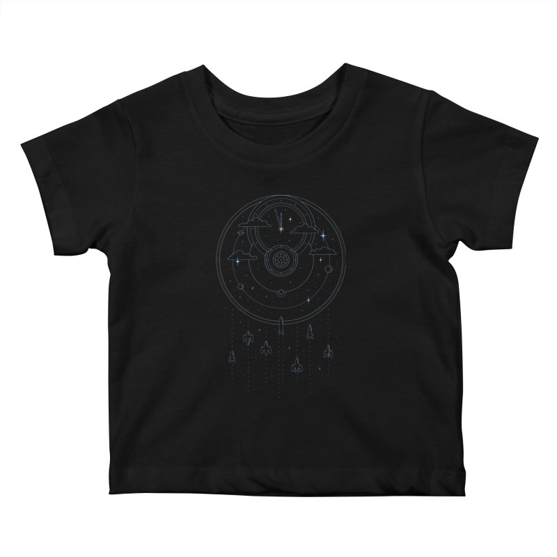 Mission through Time and Space Kids Baby T-Shirt by heavyhand's Artist Shop