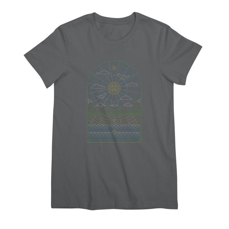Church of Mother Nature Alt Women's T-Shirt by heavyhand's Artist Shop