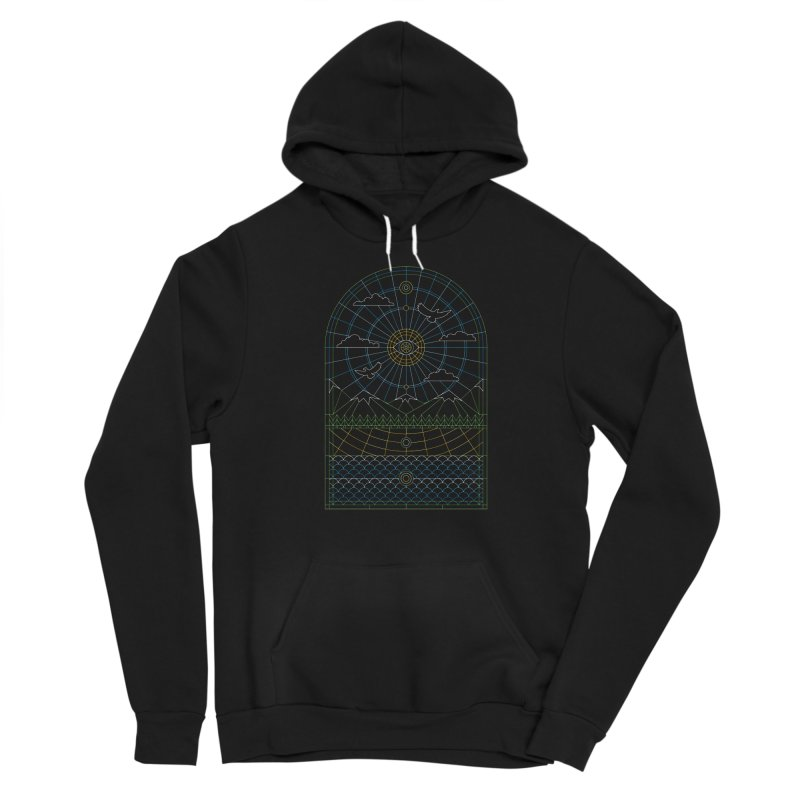 Church of Mother Nature Alt Men's Sponge Fleece Pullover Hoody by heavyhand's Artist Shop