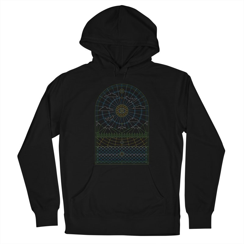 Church of Mother Nature Alt Women's French Terry Pullover Hoody by heavyhand's Artist Shop