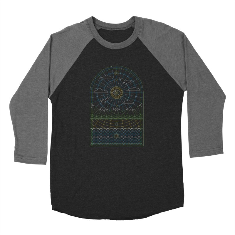 Church of Mother Nature Alt Women's Baseball Triblend Longsleeve T-Shirt by heavyhand's Artist Shop