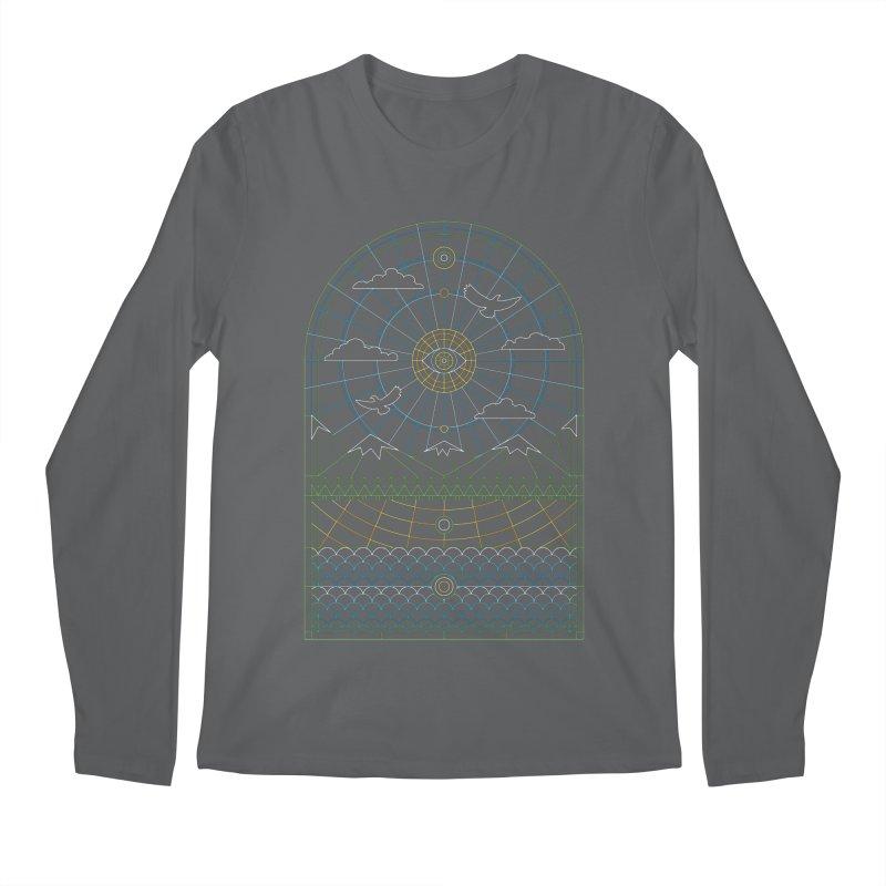 Church of Mother Nature Alt Men's Regular Longsleeve T-Shirt by heavyhand's Artist Shop