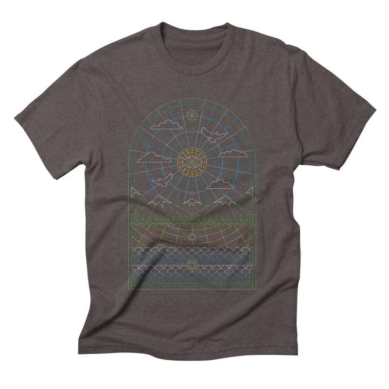 Church of Mother Nature Alt Men's Triblend T-Shirt by heavyhand's Artist Shop