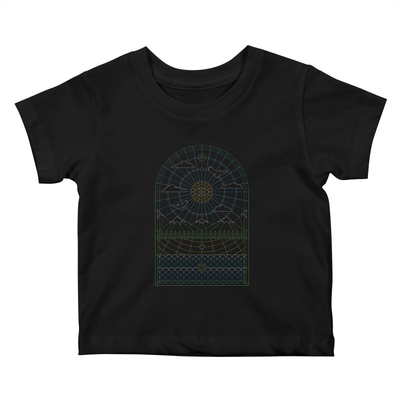 Church of Mother Nature Alt Kids Baby T-Shirt by heavyhand's Artist Shop