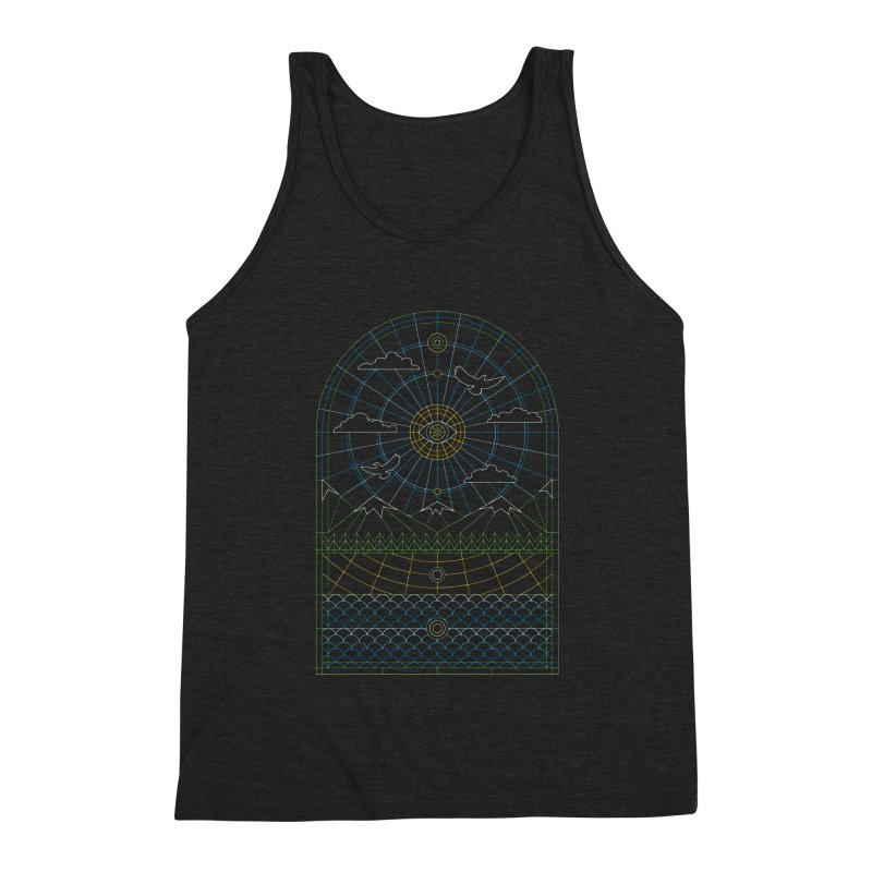 Church of Mother Nature Alt Men's Triblend Tank by heavyhand's Artist Shop