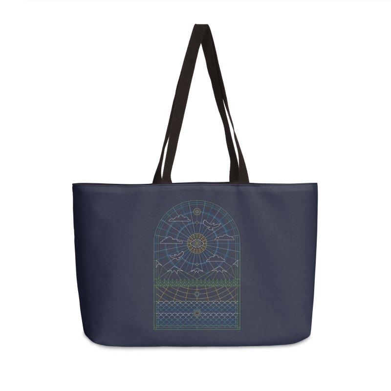 Church of Mother Nature Alt Accessories Weekender Bag Bag by heavyhand's Artist Shop