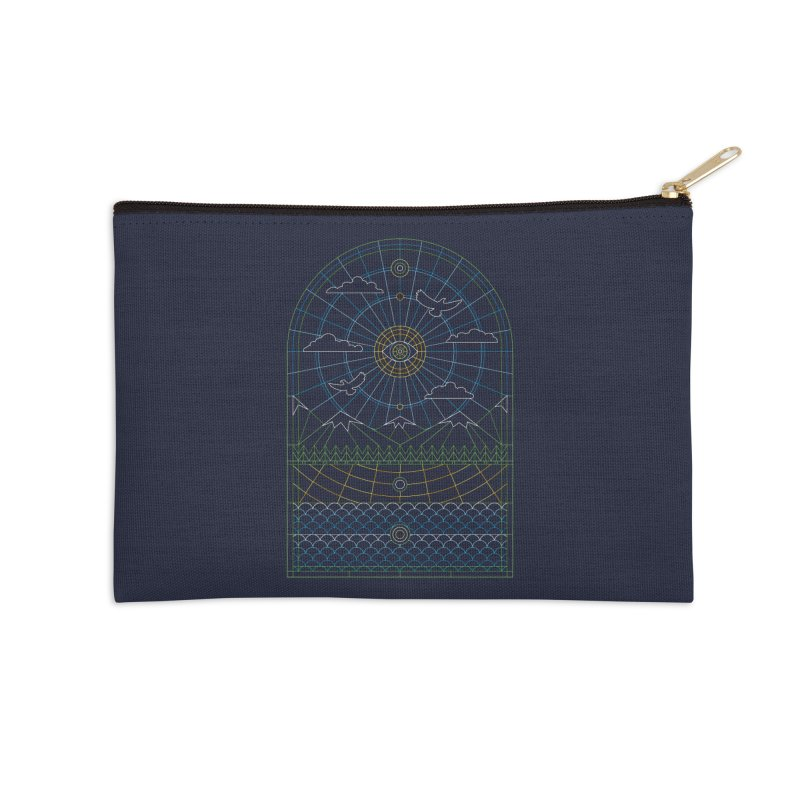 Church of Mother Nature Alt Accessories Zip Pouch by heavyhand's Artist Shop