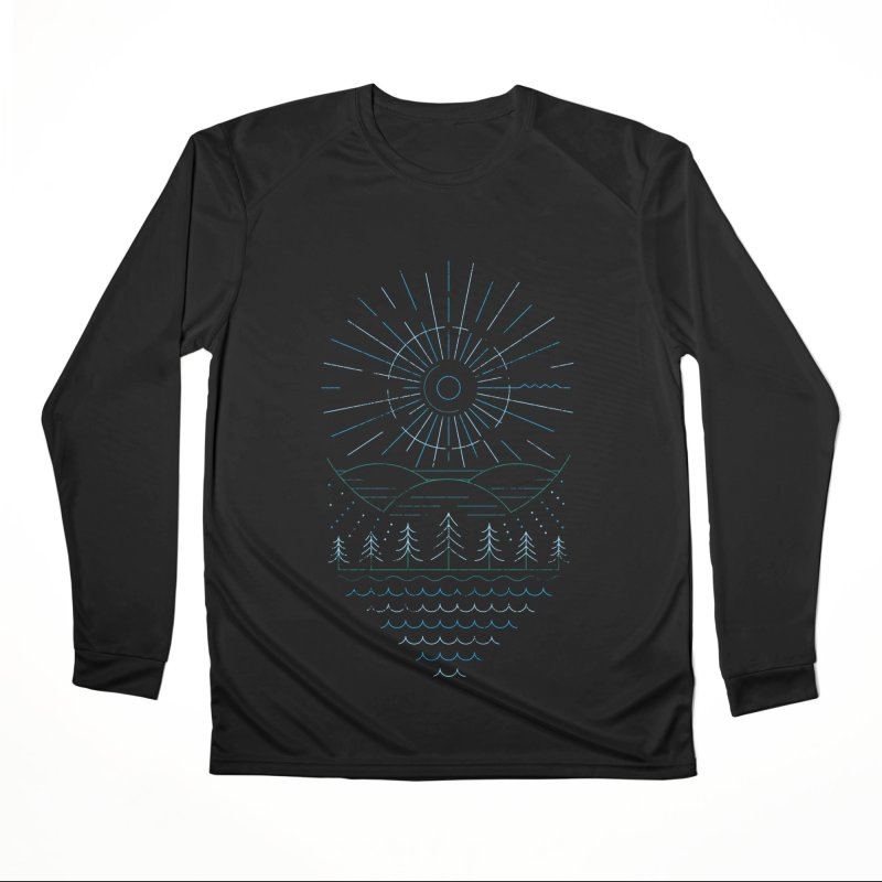 Winter Moon Women's Performance Unisex Longsleeve T-Shirt by heavyhand's Artist Shop