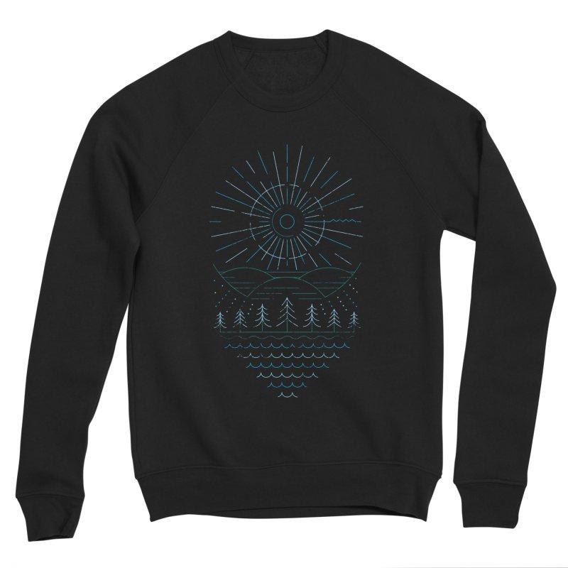 Winter Moon Women's Sponge Fleece Sweatshirt by heavyhand's Artist Shop