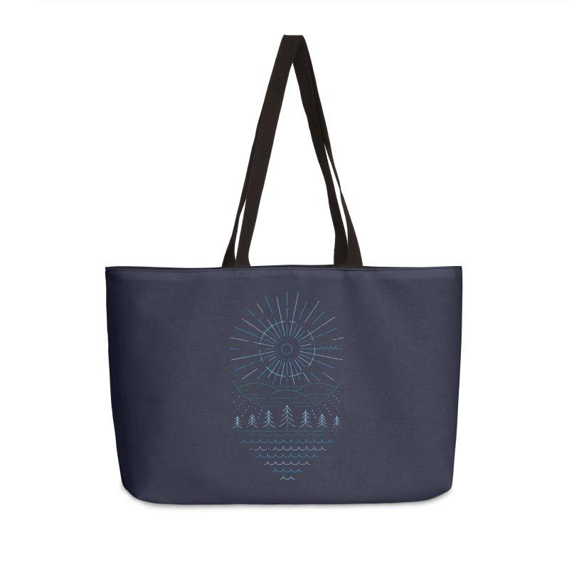 Winter Moon Accessories Weekender Bag Bag by heavyhand's Artist Shop