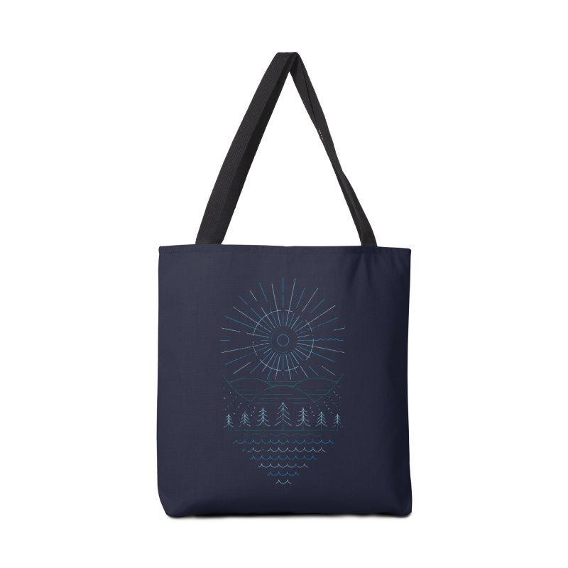 Winter Moon Accessories Tote Bag Bag by heavyhand's Artist Shop