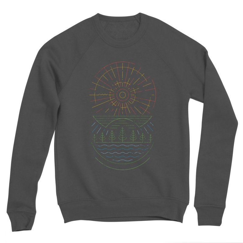 Summer Sun Men's Sponge Fleece Sweatshirt by heavyhand's Artist Shop