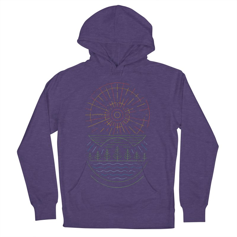 Summer Sun Men's French Terry Pullover Hoody by heavyhand's Artist Shop