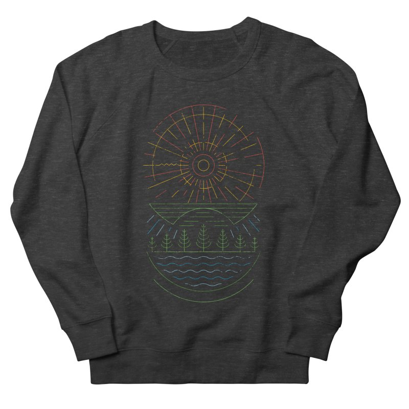 Summer Sun Men's French Terry Sweatshirt by heavyhand's Artist Shop