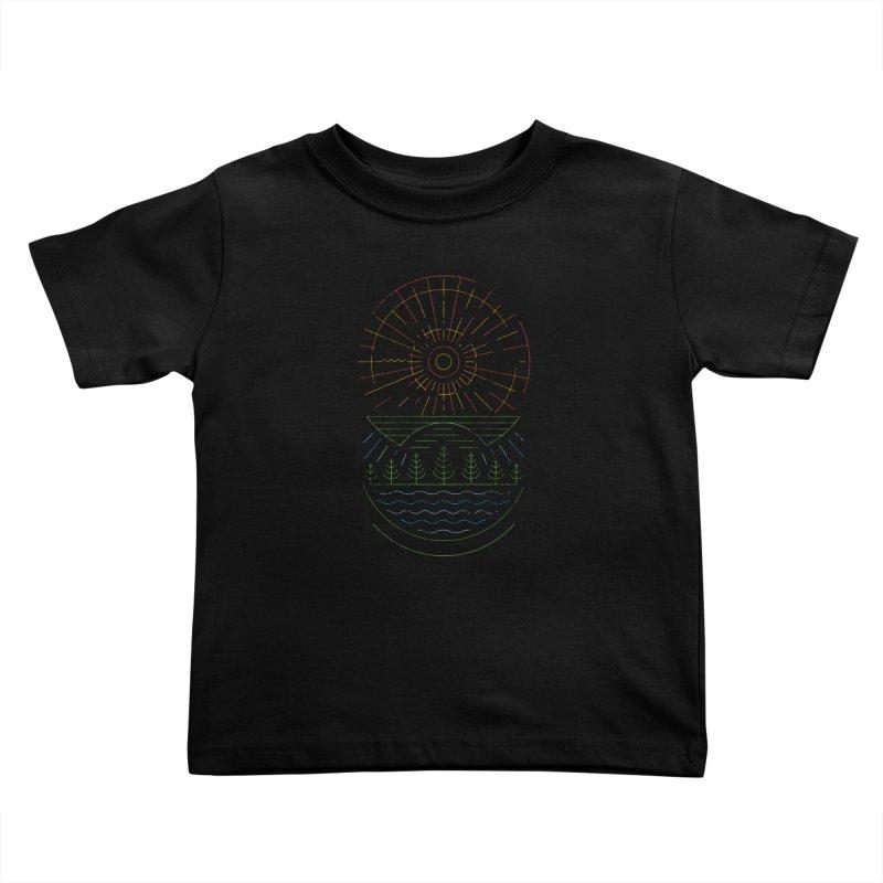 Summer Sun Kids Toddler T-Shirt by heavyhand's Artist Shop