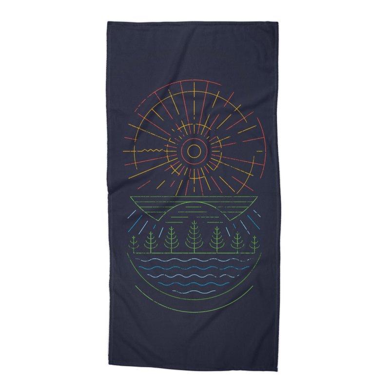 Summer Sun Accessories Beach Towel by heavyhand's Artist Shop