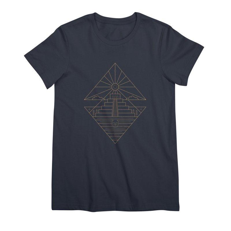 The Sun God Temple Women's T-Shirt by heavyhand's Artist Shop