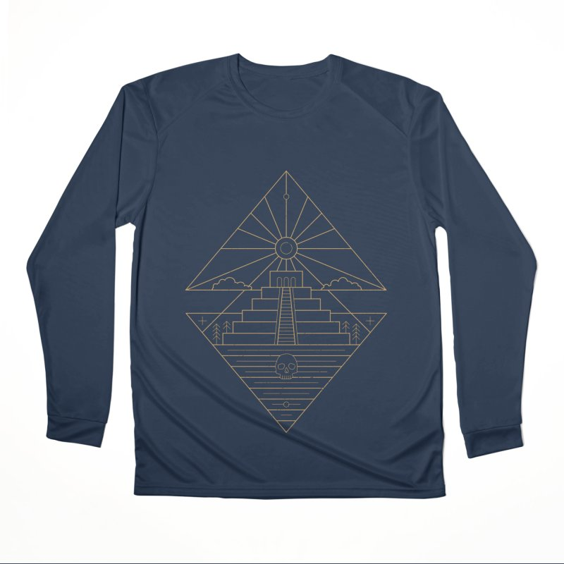 The Sun God Temple Men's Performance Longsleeve T-Shirt by heavyhand's Artist Shop