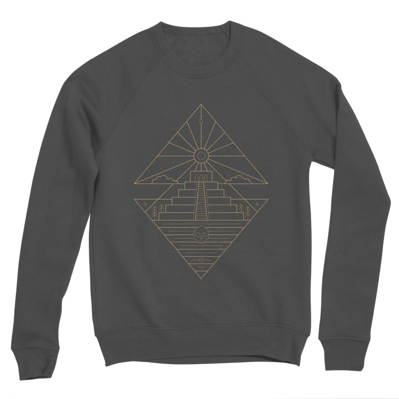 The Sun God Temple Men's Sponge Fleece Sweatshirt by heavyhand's Artist Shop