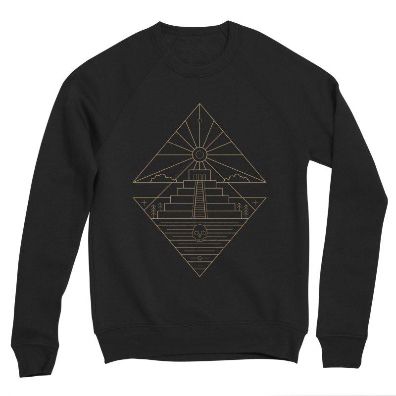 The Sun God Temple Women's Sponge Fleece Sweatshirt by heavyhand's Artist Shop