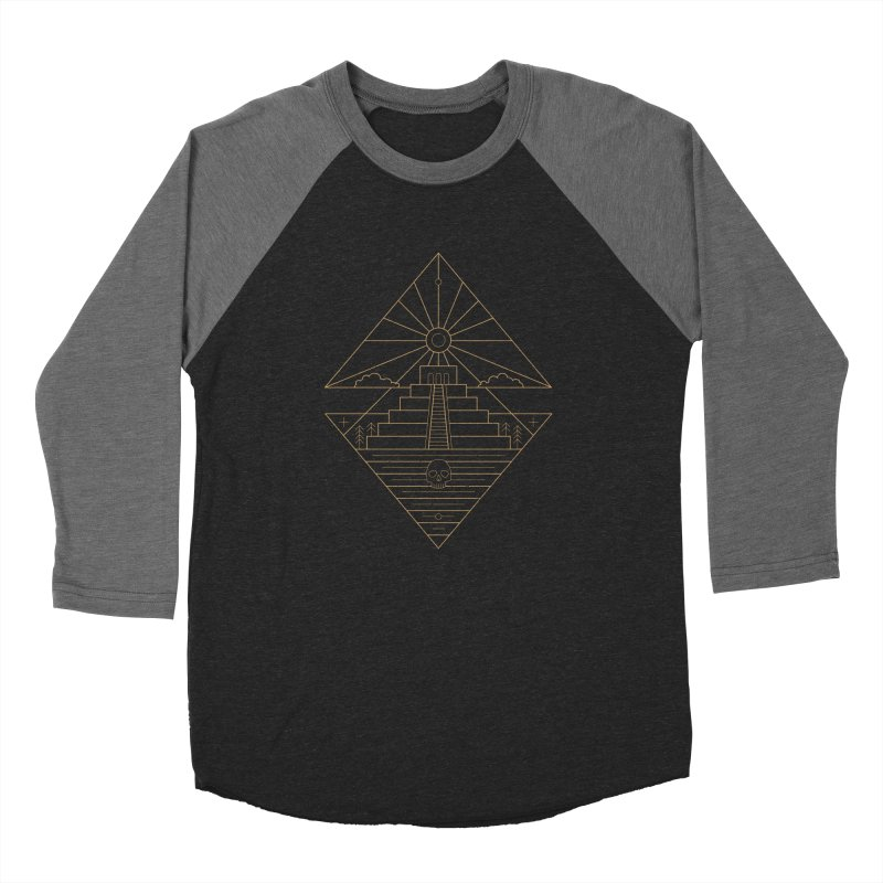 The Sun God Temple Women's Baseball Triblend Longsleeve T-Shirt by heavyhand's Artist Shop