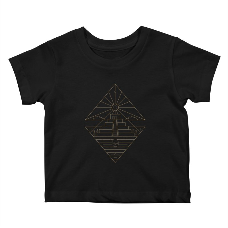 The Sun God Temple Kids Baby T-Shirt by heavyhand's Artist Shop