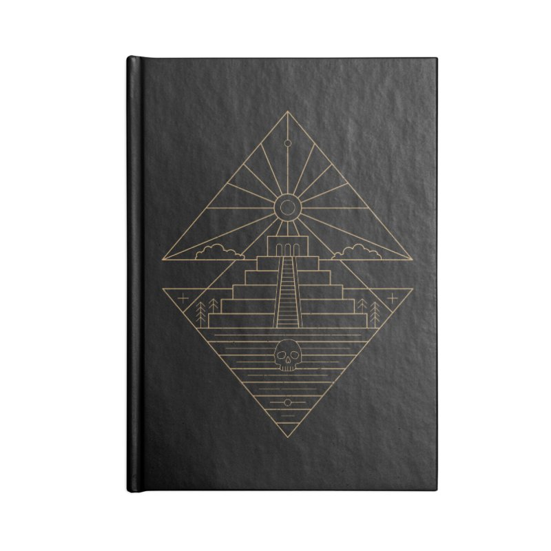The Sun God Temple Accessories Blank Journal Notebook by heavyhand's Artist Shop
