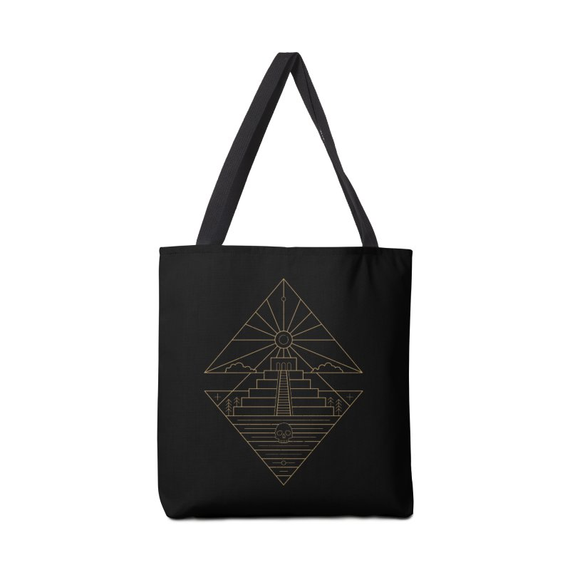 The Sun God Temple Accessories Tote Bag Bag by heavyhand's Artist Shop