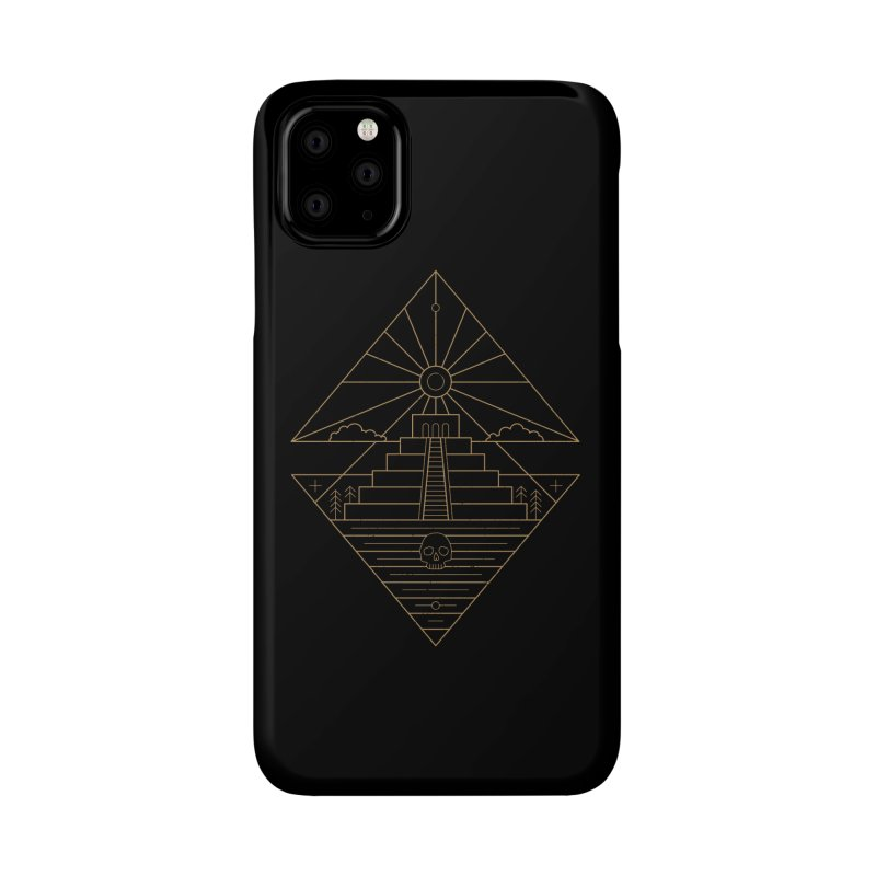 The Sun God Temple Accessories Phone Case by heavyhand's Artist Shop