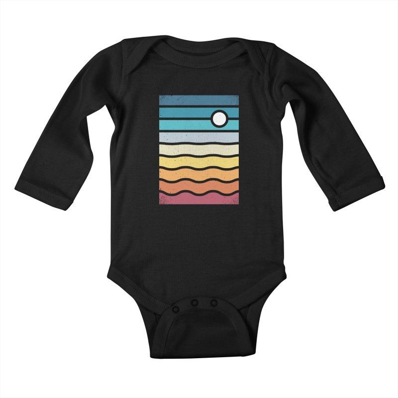 Haze Kids Baby Longsleeve Bodysuit by heavyhand's Artist Shop