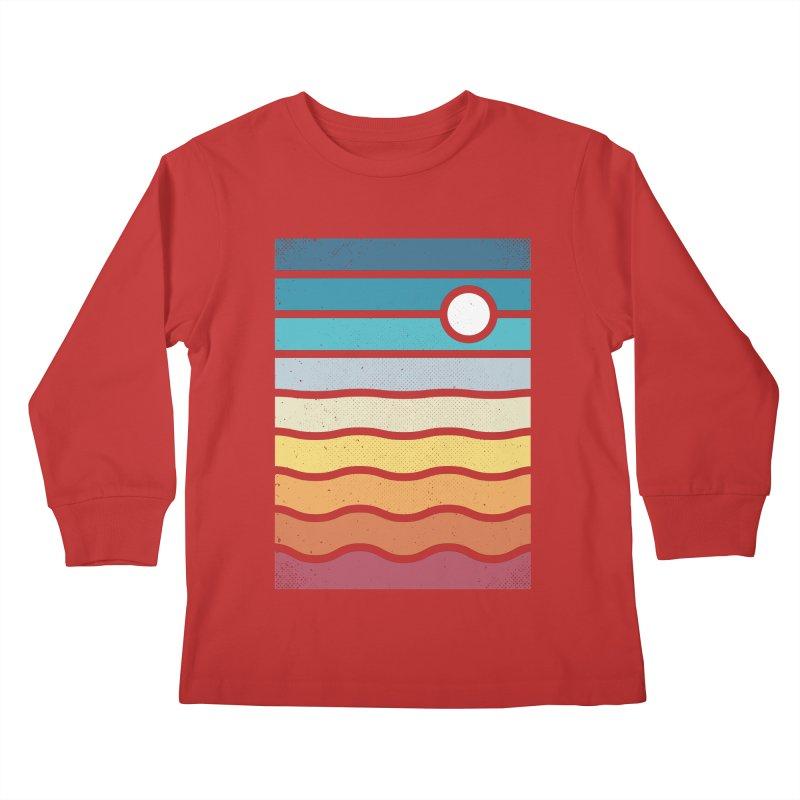 Haze Kids Longsleeve T-Shirt by heavyhand's Artist Shop