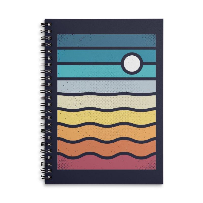 Haze Accessories Lined Spiral Notebook by heavyhand's Artist Shop