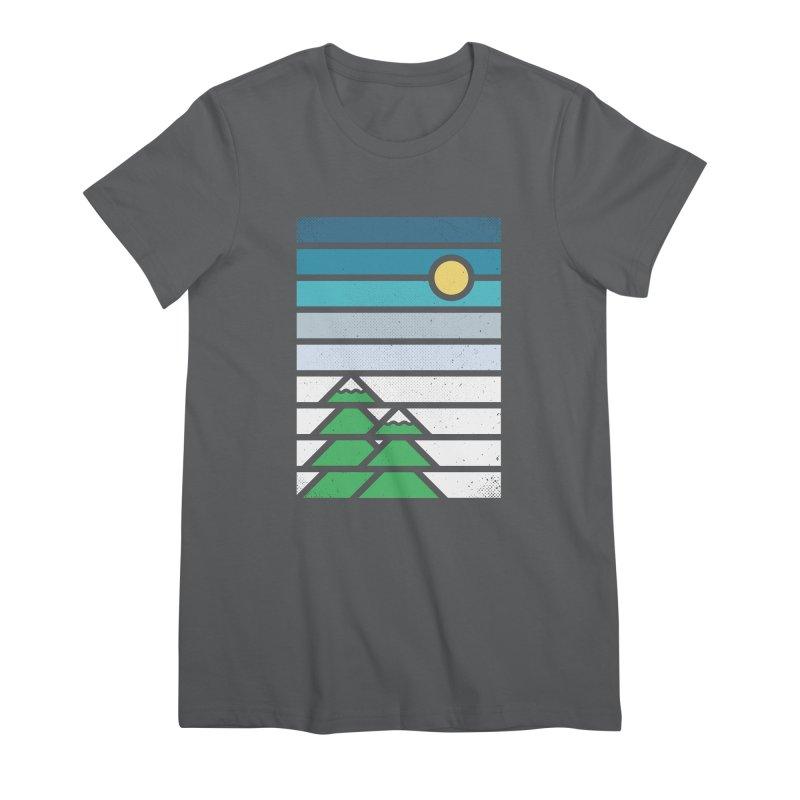 Alpine Sun Women's T-Shirt by heavyhand's Artist Shop