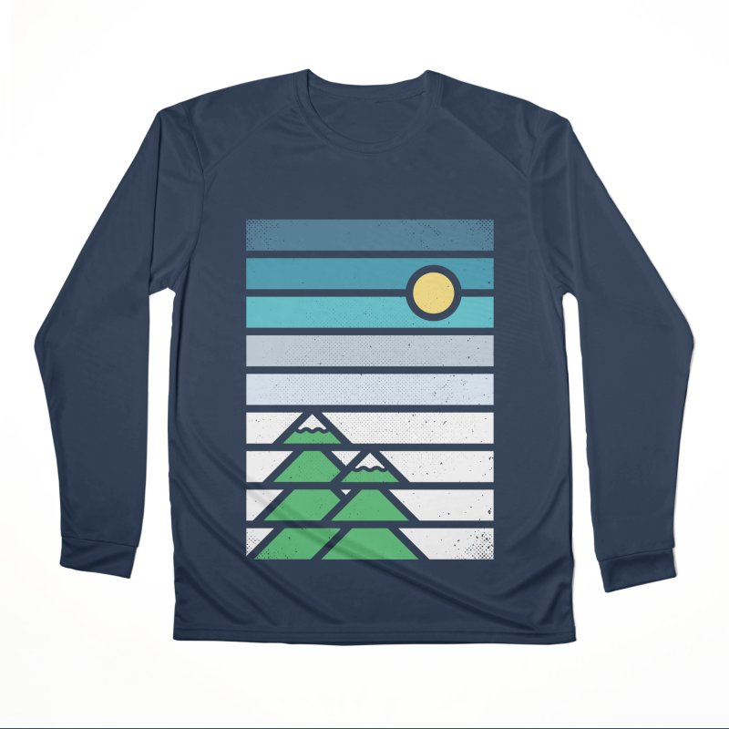 Alpine Sun Men's Performance Longsleeve T-Shirt by heavyhand's Artist Shop