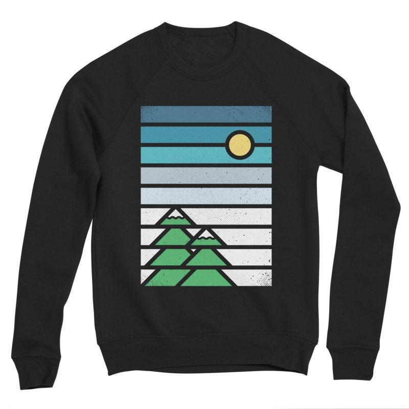 Alpine Sun Women's Sponge Fleece Sweatshirt by heavyhand's Artist Shop