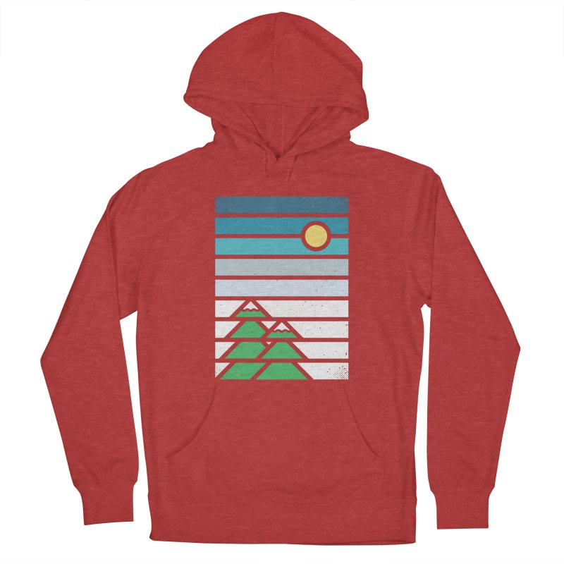 Alpine Sun Women's French Terry Pullover Hoody by heavyhand's Artist Shop