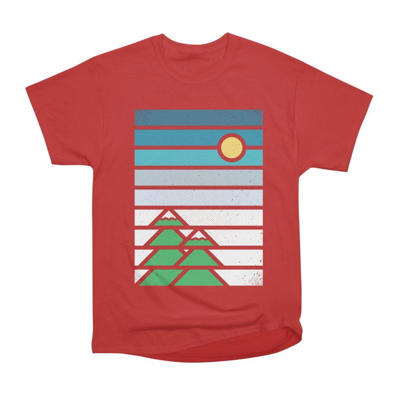 Alpine Sun Women's Heavyweight Unisex T-Shirt by heavyhand's Artist Shop